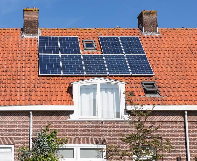 Voorbeeld 9 zonnepanelen